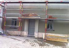 Valentino Construct - Travaux extérieurs